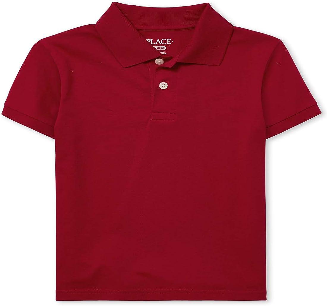 The Children's Place Boys' Uniform Soft Jersey Polo