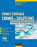 Chimie générale - Chimie des solutions - Exercices et méthodes - Exercices et méthodes