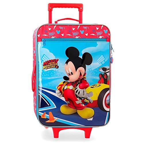 Disney Lets Roll Mickey Kindergepäck 50 centimeters 28 Mehrfarbig (Multicolor)
