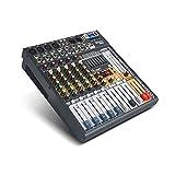 Mezclador de audio D Debra Bluetooth Studio con 6 canales de sonido de alta calidad, interfaz de controlador de DJ, entrada de grabación USB