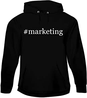 #Marketing - Men's Hashtag Pullover Hoodie Sweatshirt
