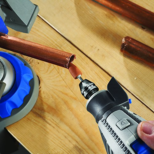 Product Image 10: Dremel 4300-5/40 High Performance Rotary Tool Kit with LED Light- 5 Attachments & 40 Accessories- Engraver, Sander, and Polisher- Perfect for Grinding, Cutting, Wood Carving, Sanding, and Engraving