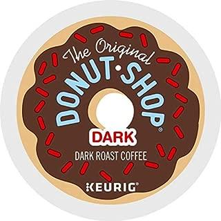 The Original Donut Shop Dark, Keurig Single-Serve K-Cup Pods, Dark Roast Coffee, 72 Count (6 Boxes of 12 Pods)