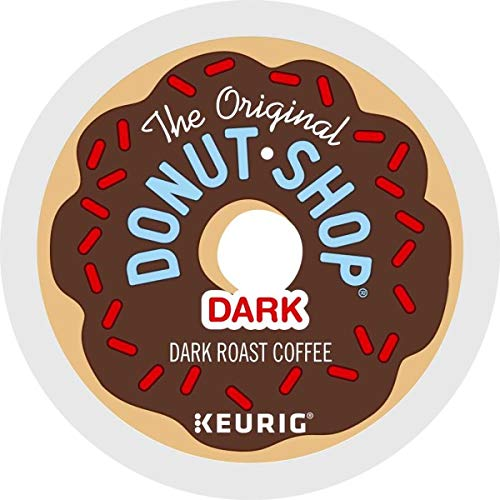 The Original Donut Shop Coffee, Regular Medium Roast, K-Cup Portion Count for Keurig Brewers