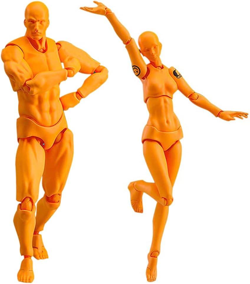 2 Pcs Set Action Figure Model Chan San Antonio Mall Mo PVC Human Sale price Kun Mannequin