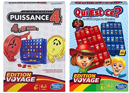 E.V. 2 Jeux Edition Voyage : Puissance 4 et Qui Est-ce ?