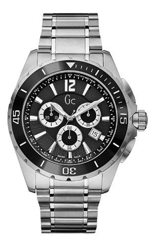 GC X76005G2S - Orologio da polso, uomo, acciaio inox, colore: argento