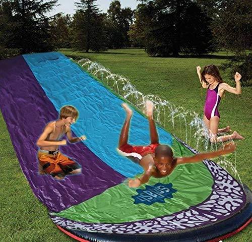 N-B Tobogán acuático Inflable para niños, tobogán acuático, tobogán acuático, tobogán acuático, tobogán acuático para niños