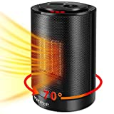 Merece Electric Oscillating Space Heater 1500W (black)