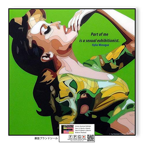 Kylie Minogue/カイリー・ミノーグ/ポップアートパネル/Keetatat Sitthiket キータタット シティケット