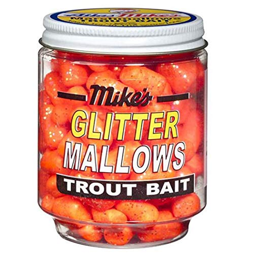 Atlas Mike's 5211 Glitter Mallows, Orange/Cheese