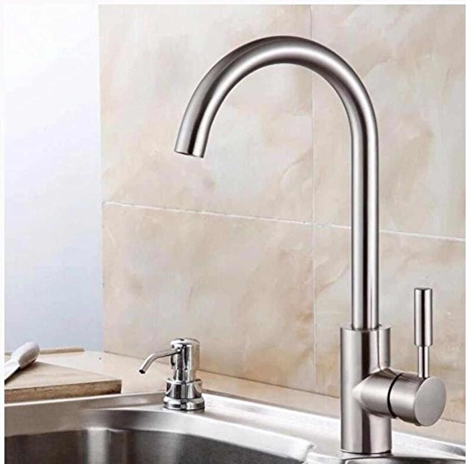 Lpophy Bathroom Sink Mixer Taps Faucet Bath Waterfall Cold and Hot Water Tap for Washroom Bathroom and Kitchen Stainless Steel Hot and Cold redation B