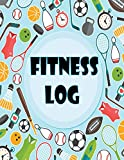 Fitness Log: Must Change Me Now :Exercise Gym Book, Daily and Weekly Notes List, Diary and Weekly Journal to Record Track and Plan for Your Workout. ... Day (Monday - Sunday) with Colorful Cover.