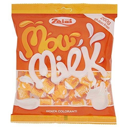 Zaini - Mow Milk, Caramelle Morbide, Al Gusto Latte - 9 pezzi da 260 g [2340 g]