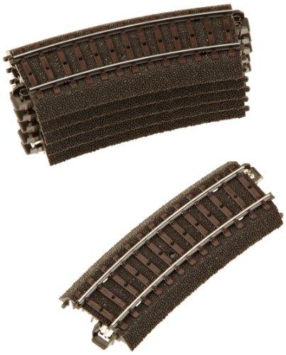 Märklin 24115 H0 Gebogenes Gleis R1 360 mm, 15 Grad, 6er Set