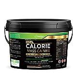 Gain de Masse Hypercalorique - Shake Protéiné avec Glutamine - Renforcement Musculaire et Gain de Poids - 517Kcal - 85g de Glucides - 34g de Protéines - 7g de Fibre - 28 Portions(140g par portion)