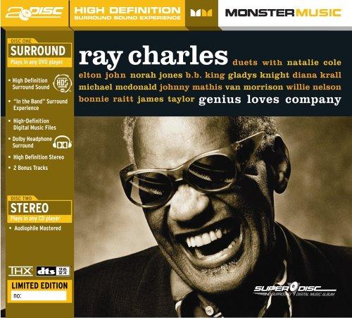 Price comparison product image Ray Charles - Genius Loves Company (SuperDisc)