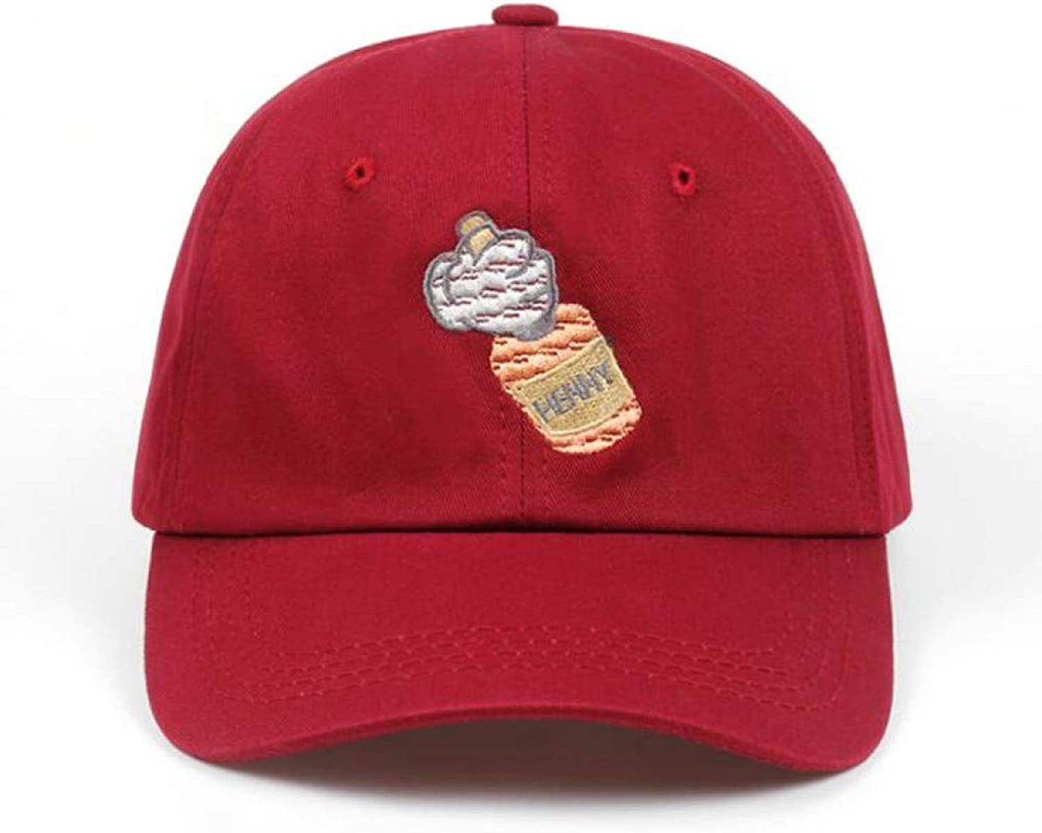 AZSXDC Hat Baseball Cap Embroidery for Men Women Bottle Cosmonaut Cap Cotton Hip Hop Bone Cotton