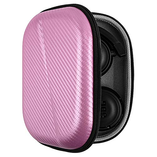 Fromsky Hard Case for JBL T450BT T500BT T600BTNC Headphones, Protective Storage Travel Case (Pink)