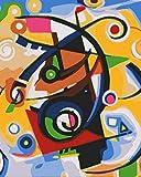 YUHHGFK DIY Pintura por Números Mariposa Animal de Color Pint por Número de Kits con Pinceles y Pinturas para Adultos, niños y Principiantes Decoraciones Hogar - 40 X 50 cm (Sin Marco)