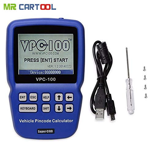 Generic Top Quality New Arrival Pin Code VPC-100 Calculator Support Almost All Cars VPC100 Auto Key Programmer VPC 100