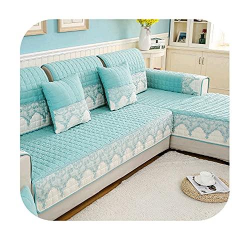Halkfritt sofföverdrag skydd schäslong fyra säsonger universal stretch hörn soffa kudde soffa handduk 1/2/3/4-sits för vardagsrum - 04-B 110xL 210 cm 1 st