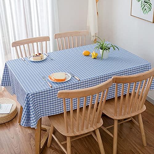 YDyun Adecuado para Cocinas Exteriores O Interiores Mantel Mesa Mantel Pastoral de celosía