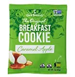Erin Baker's Breakfast Cookies, Caramel Apple, Whole Grain, Non-GMO, 3-ounce (Pack of 12)