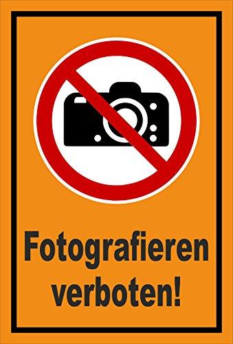 Melis Folienwerkstatt Adhesivo Señal De Prohibido–Fotografía. Cámara photographieren–entspr. DIN ISO 7010/ASR a1.3–s00355–033de E + + + en 20Variantes.