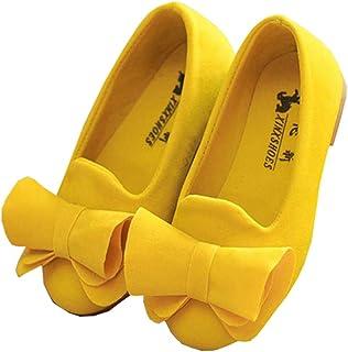 Girls Bowknot Girls Dress Shoes Princess Mary Jane Ballet...