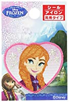 パイオニア ワッペン ディズニー アナと雪の女王 アナ MY4001-MY353