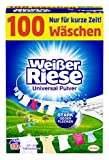 Wei er Riese Universal Pulver Waschmittel, 1er Pack (1 x 100 Waschladungen)