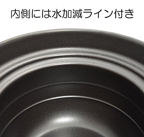 大黒窯手造りごはん土鍋二重蓋炊飯2合炊き
