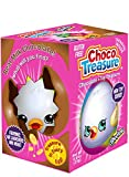 Shopkins Choco Treasure Eggs with Toy Surprise!, Tray of 12 Eggs   24 Collectible Toys   Fun For All Ages