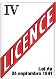 Editions Clouet 29311 Tableau d'Affichage Licence Iv Métal 15 x 21 cm