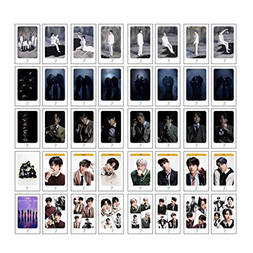 ALTcompluser 40 hojas Kpop Map Of The Soul 7 Lomo Photocard/Fotokarten Set, Bangtan...