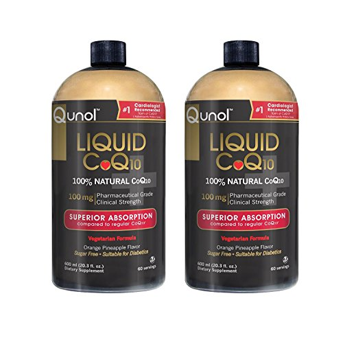Qunol Liquid CoQ10 100mg, Superior Absorption Natural Supplement Form...