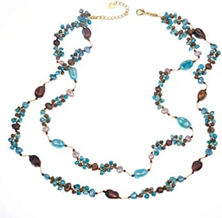 Best multi colored cultured pearl necklace Reviews