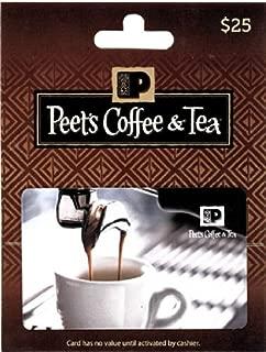 Peet's Coffee & Tea Gift Card