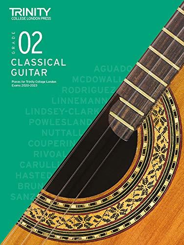 Trinity College London Classical Guitar Exam Pieces 2020-2023: Grade 2