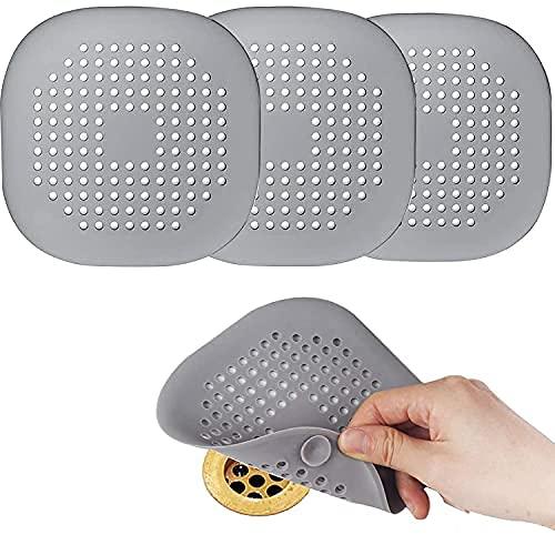 Hair Catcher - Tapón de silicona para ducha con tapa de succión