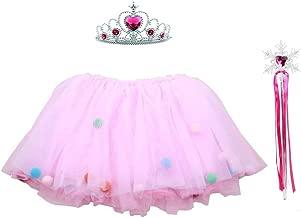 zefen Crochet Tutus Girls Princess Wands Tiaras Crowns Photo Props Birthday Party