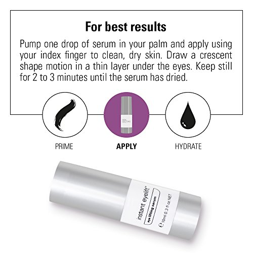 Skin Doctors Instant Eyelift, with Hyaluronic Acid, helps the appearance of wrinkles, eye bags, puffiness, and tightens the skin around the eye - 10ml