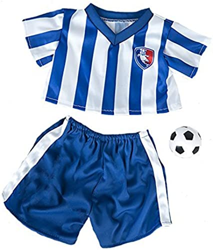 al precio mas bajo All All All Star Soccer Uniform Fits Most 14 - 18 Build-a-bear, Vermont Teddy Bears, and Make Your Own Stuffed Animals by Stuffems Toy Shop  promociones de equipo