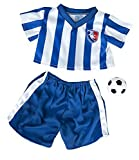 All Star Soccer Uniform Fits Most 14 - 18 Build-a-bear, Vermont Teddy Bears, and Make Your...