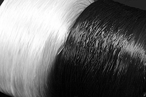 INWARIA (0,30€/1m) Gummifaden elastisch 10m 0,2/0,3/0,4 mm Elastikfaden Gummiband, GB-15,0,2 mm,weiß