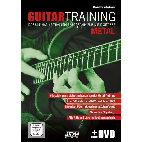 Hage - gitaar training metaal (met data dvd)