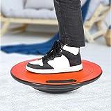 DAUERHAFT Fitness Balance Board Balance Board Material plástico 40cm * 10cm Desarrollo Personal, para Yoga, para Ejercicio Regular(Red)