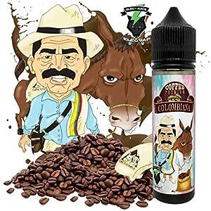 E-Liquid colombiana | 60ML TPD | ElecVap | Sin Nicotina: 0MG | E-Liquido vapeo para Cigarrillos Electronicos - E Liquidos para Vaper 70/30
