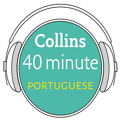 Portuguese in 40 Minutes audiobook cover art